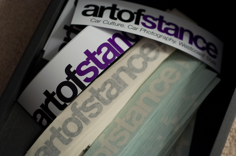 Artofstance stickers