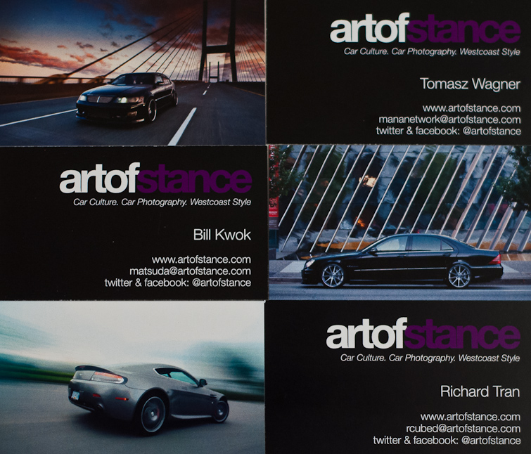 Artofstance Business Cards